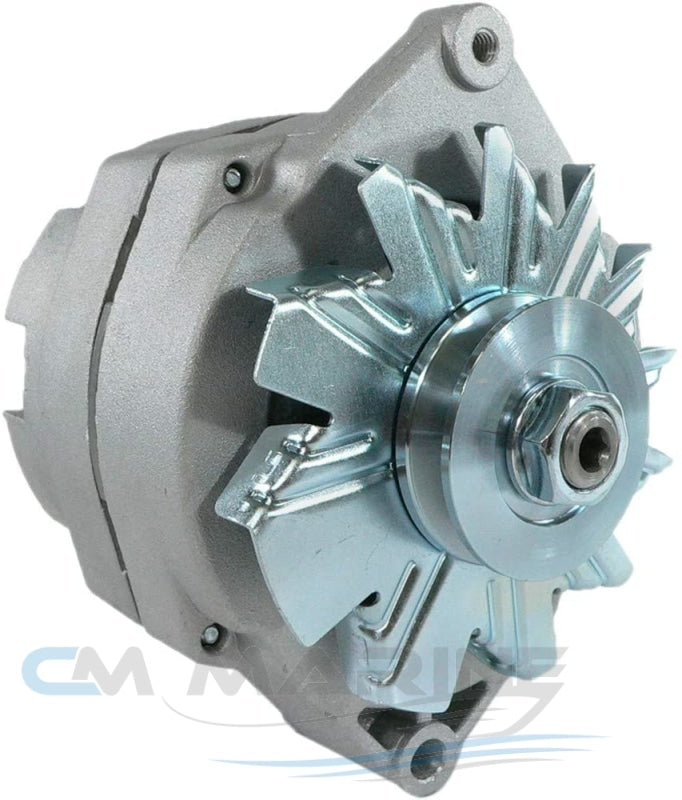 Chevy Gm Alternator 105 Amp 3-Wire External Fan Car