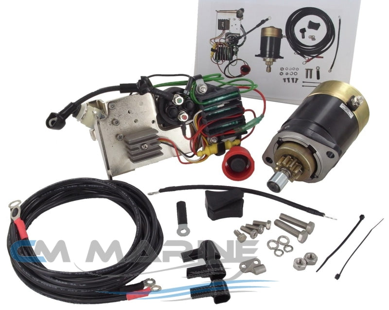 Electric Engine Starter Conversion Kit Tohatsu Mercury Marine Motor
