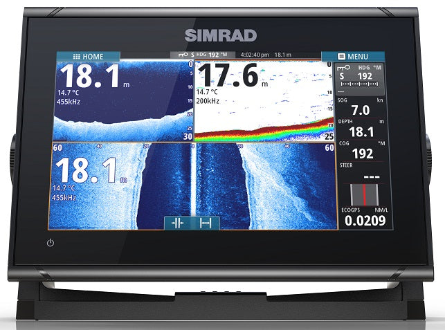 Simrad GO9 XSE TotalScan with C-Map Aus/NZ Chart