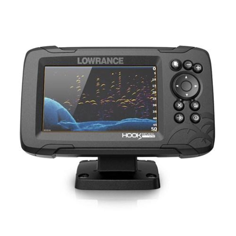 Lowrance Hook Reveal 5 50/200 Hdi Deep Water & Aus/nz Charts Navigation