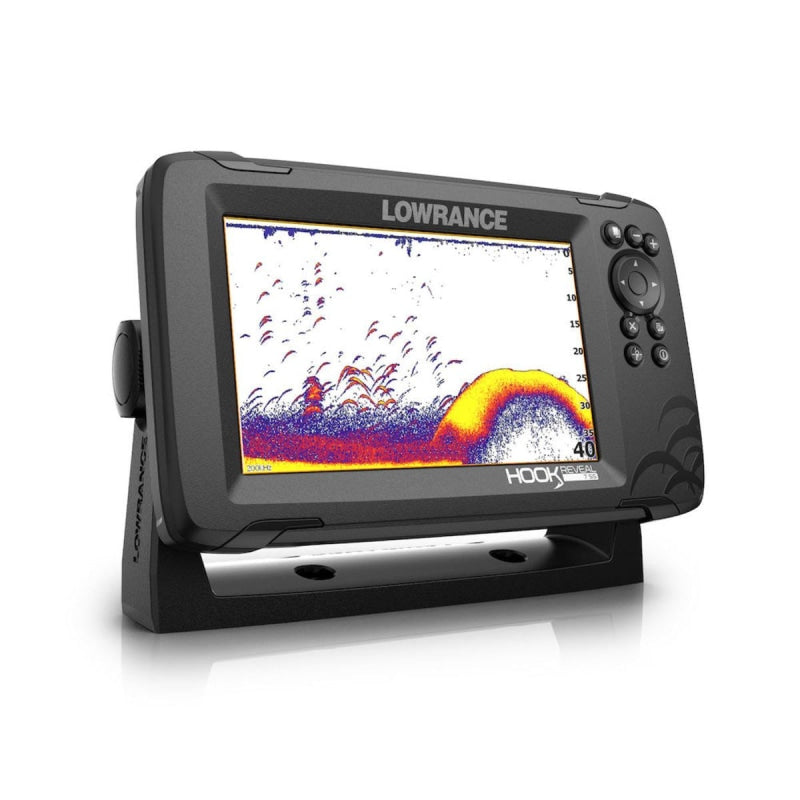 Lowrance Hook Reveal 7 Splitshot With Chirp Downscan & Aus/nz Charts Navigation