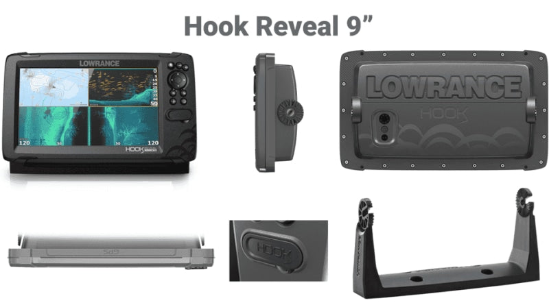 Lowrance Hook Reveal 9 50/200 Hdi Deep Water Aus/nz Charts Navigation