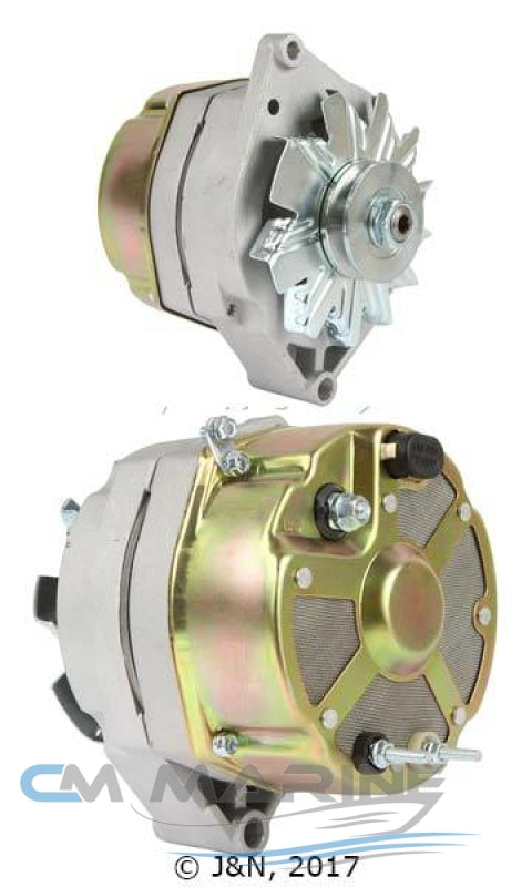 New Marine Alternator Volvo Penta Aq115 94Amps Marine Alternator