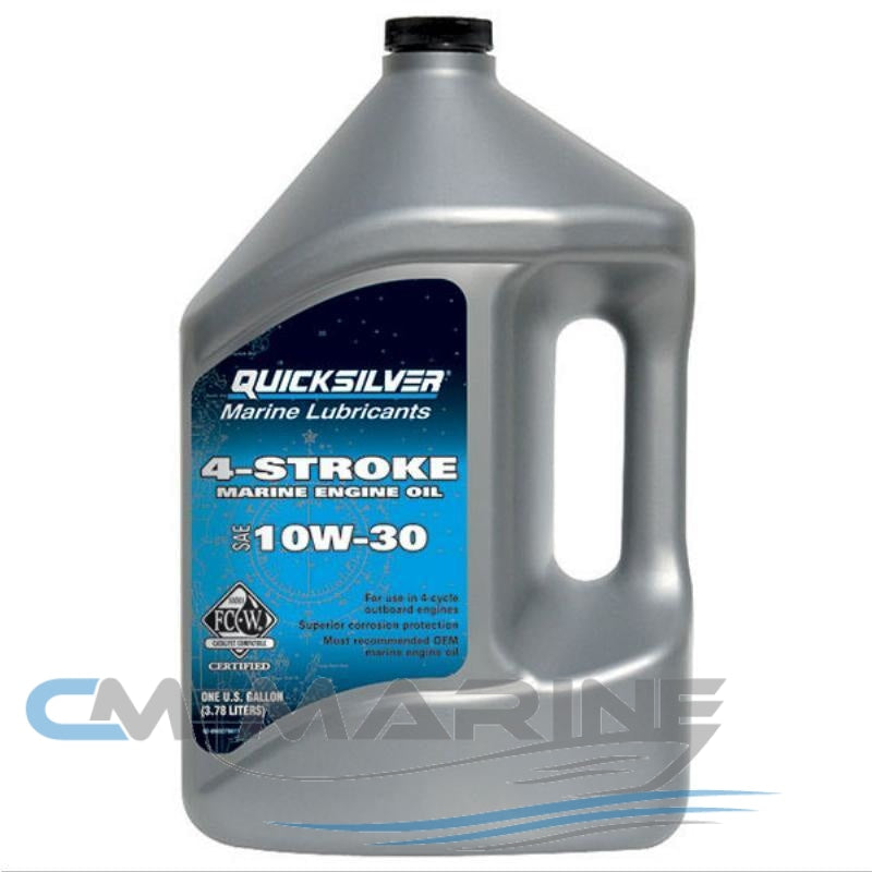 Quicksilver 10W-30 Premium 4 Stroke Engine Oil