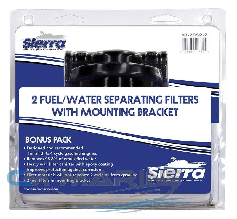 Sierra 18-7852-2 Fuel Water Separator Filter For Johnson/evinrude Outboard Motor Marine Parts
