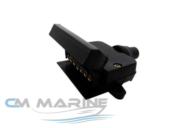 Trailer Connector Female Suit Flat 7 Pin Marine Parts