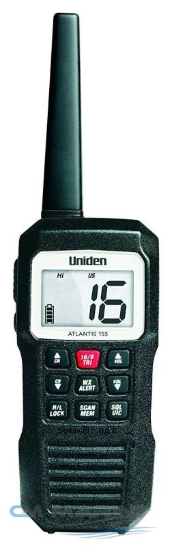 Uniden Atlantis 155 Floating Handheld Two Way Vhf Radio