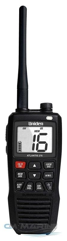 Uniden Atlantis 275 Handheld Two-Way Vhf Marine Radio