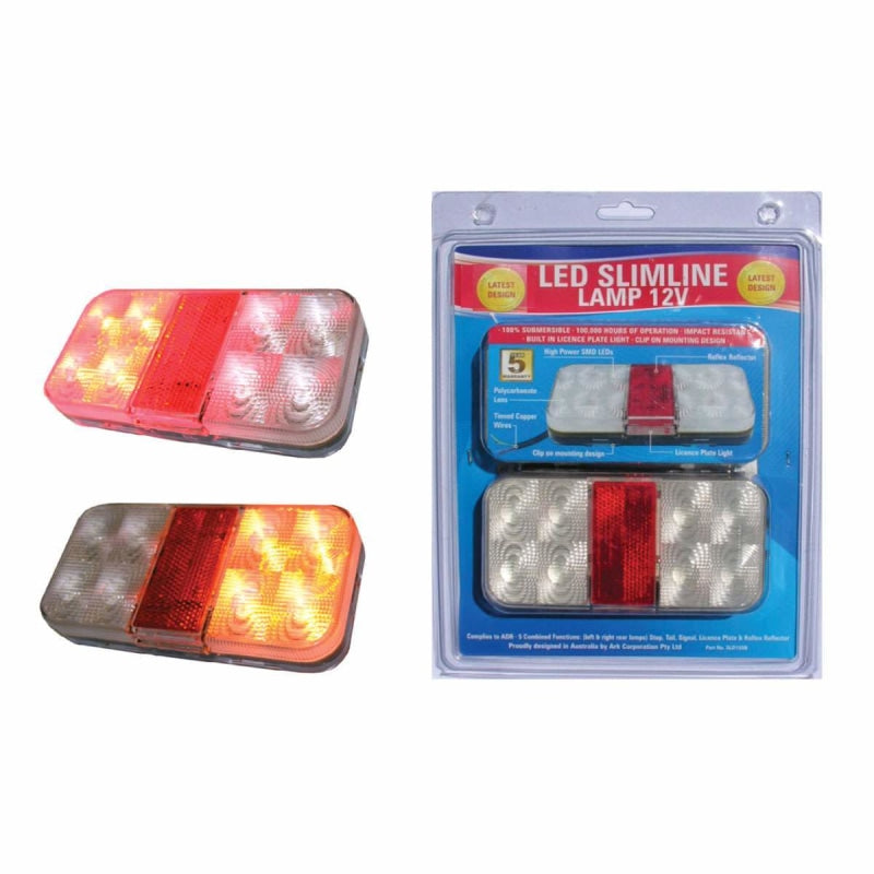 Waterproof Led Combo Trailer Lights 214024 Marine Parts