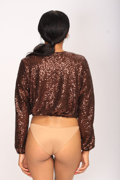 Eliza Jacket ( Bombing Brown)