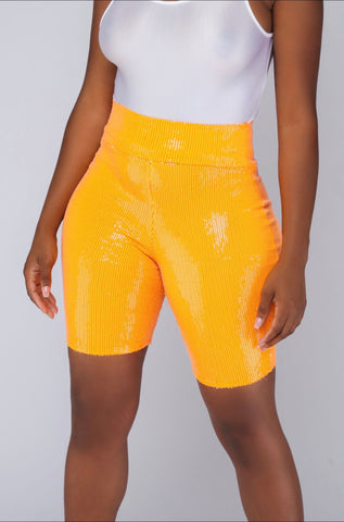 Sasha Shorts (Orange)