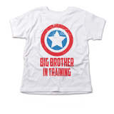 American Shield Superhero Big Brother Pregnancy Announcement Shirt
