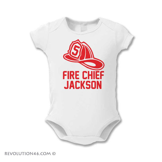 Fireman Hat Birthday Shirt