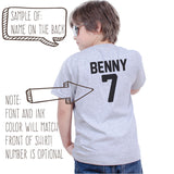 Train Birthday Party Shirt - Custom Number & Name