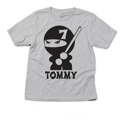Ninja Birthday Party Shirt