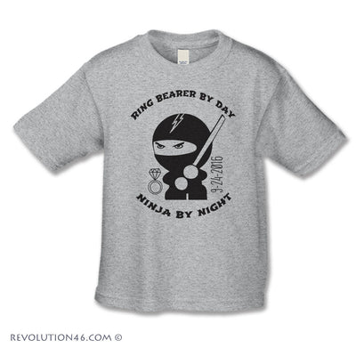 Ninja Ring Bearer - Ring Security Shirt