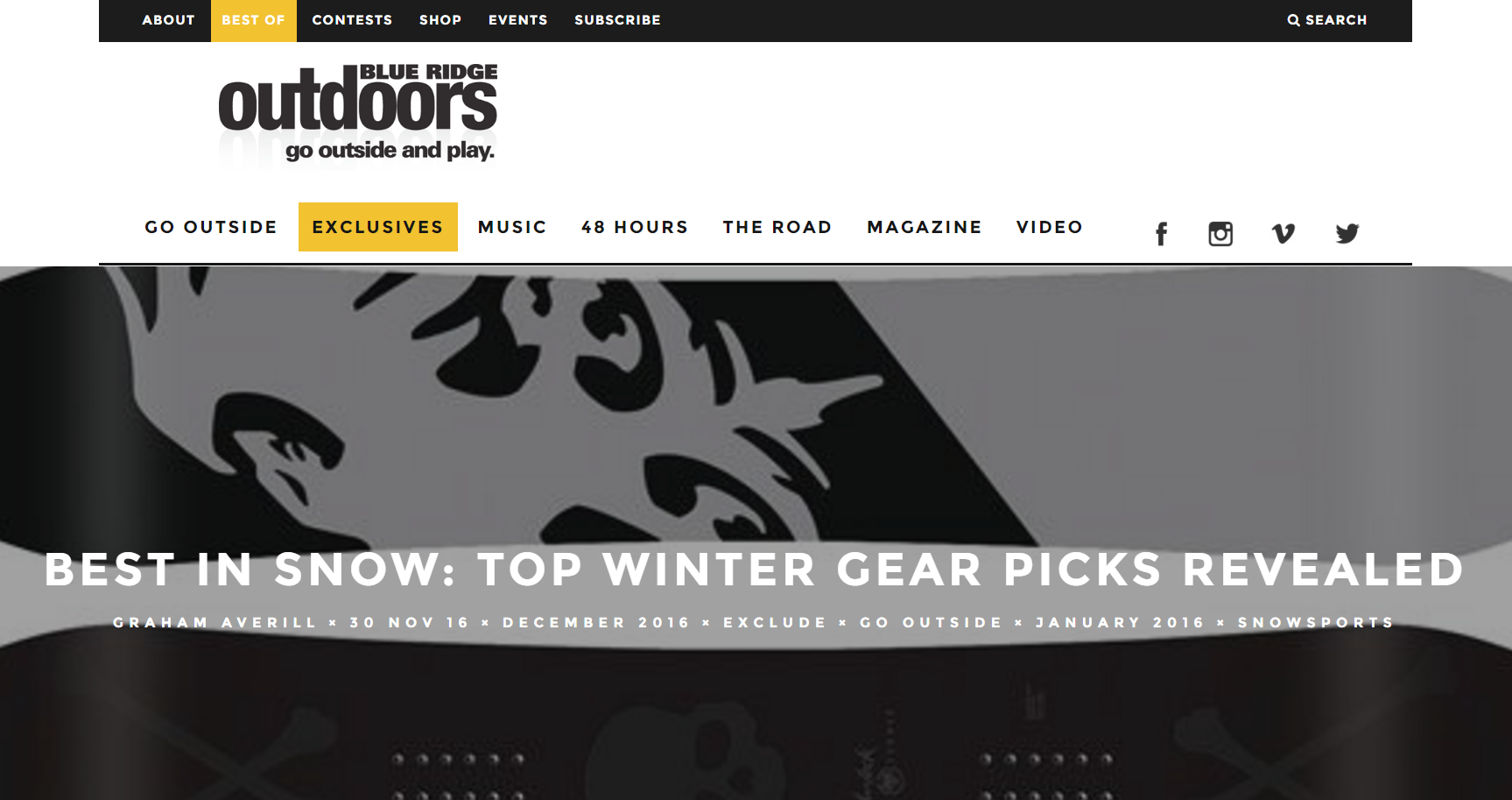 Are you a powder addict? Check out these top winter gear picks.