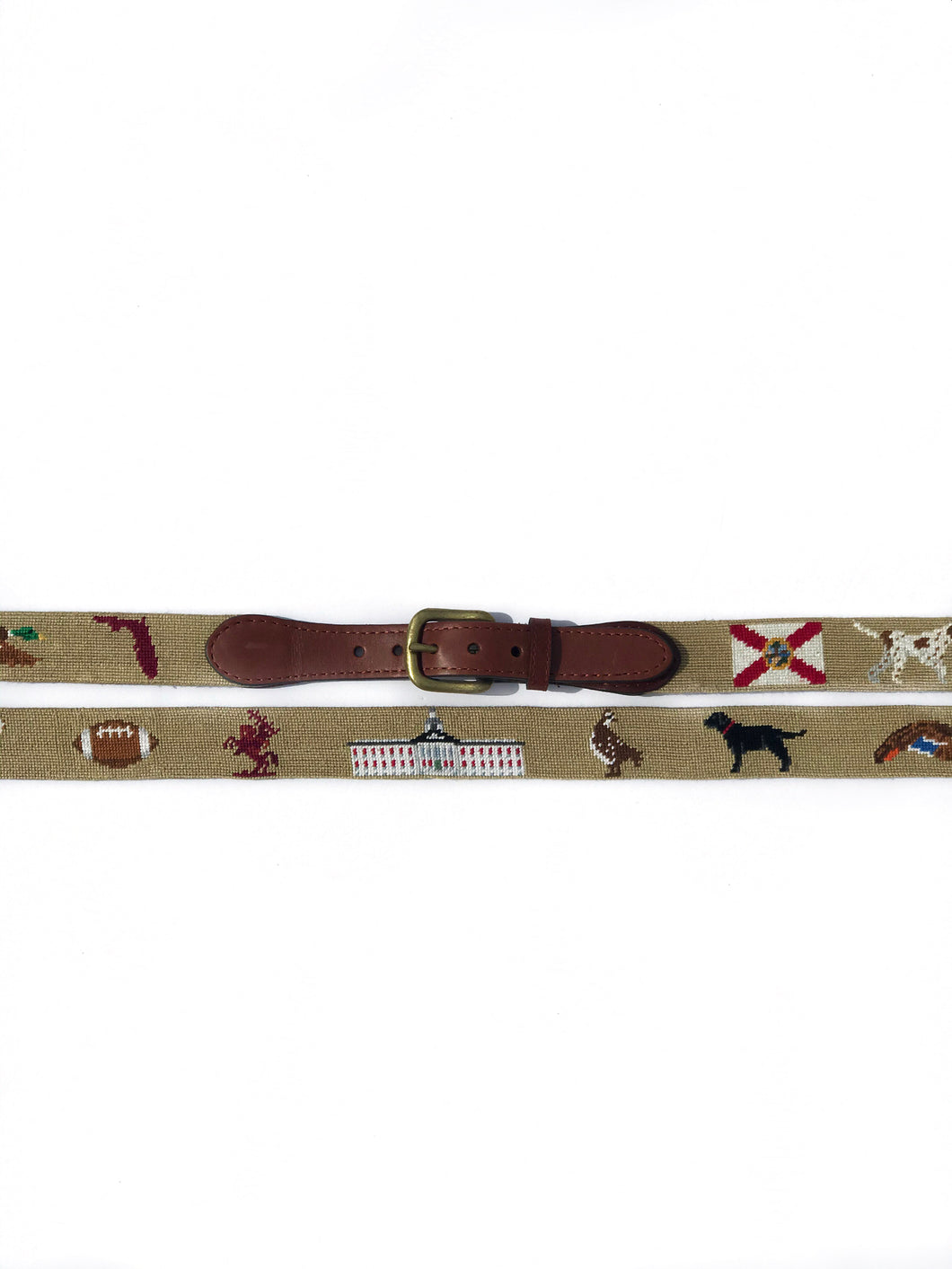 Smathers and Branson Florida themed belt