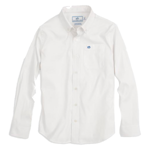Southern Tide Boys Intercoastal Solid Sportshirt