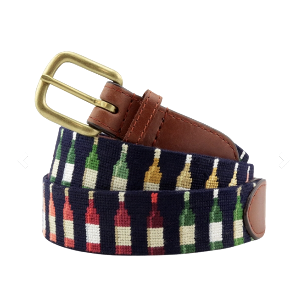 Smathers & Branson Wine Bottles Belt