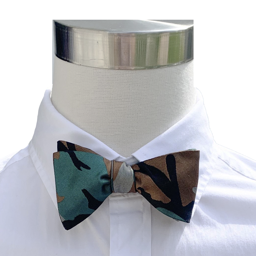 Collared Greens Camoflauge Bow Tie