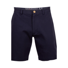 "Load image into Gallery viewer, Coast Dock 7"" Flat Front Short - Navy"