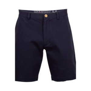 "Coast Dock 7"" Flat Front Short - Navy"