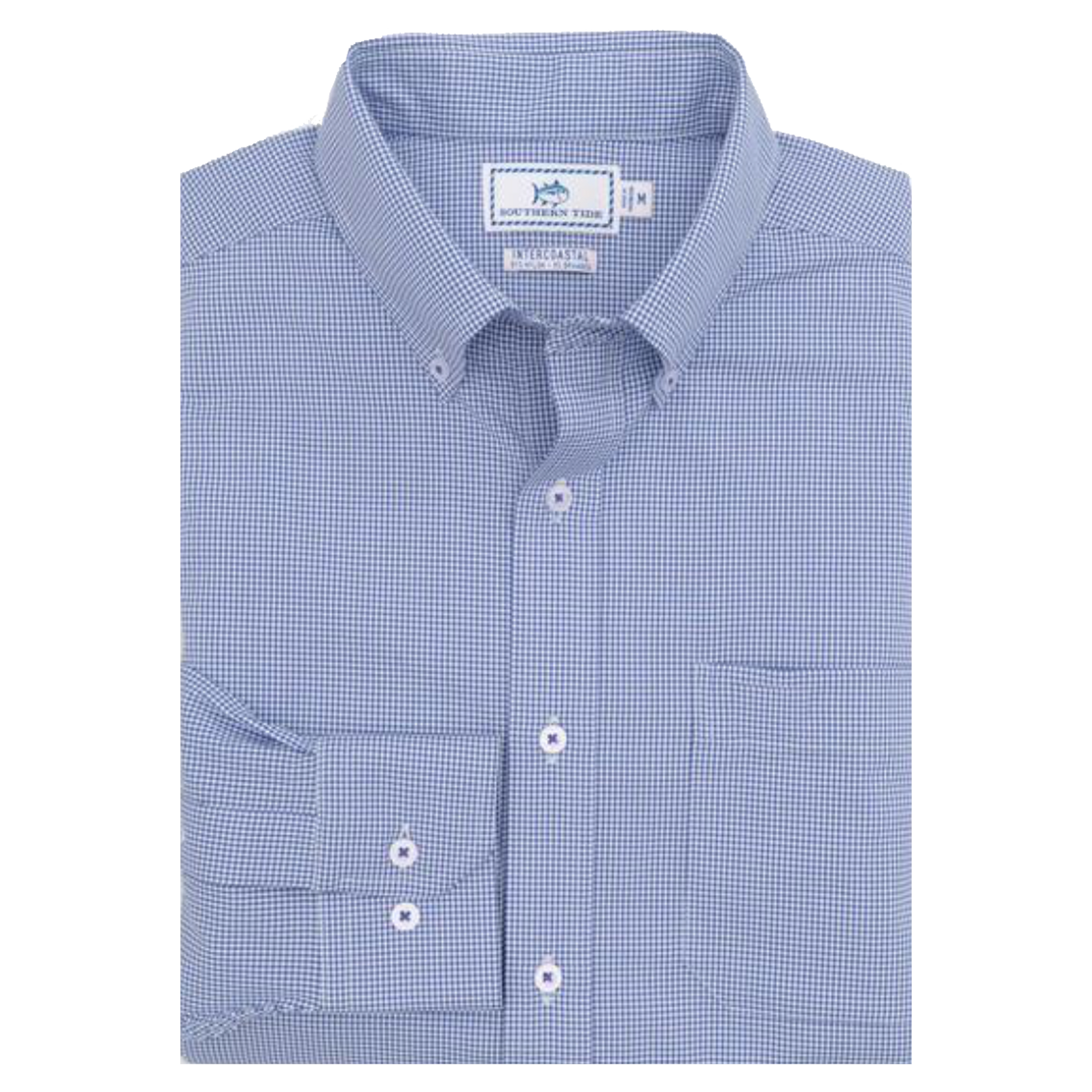 Southern Tide Team Colors Intercoastal Button Down - University Blue