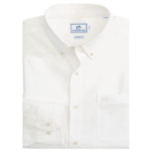 Southern Tide Harbor River Intercoastal Button Down - White