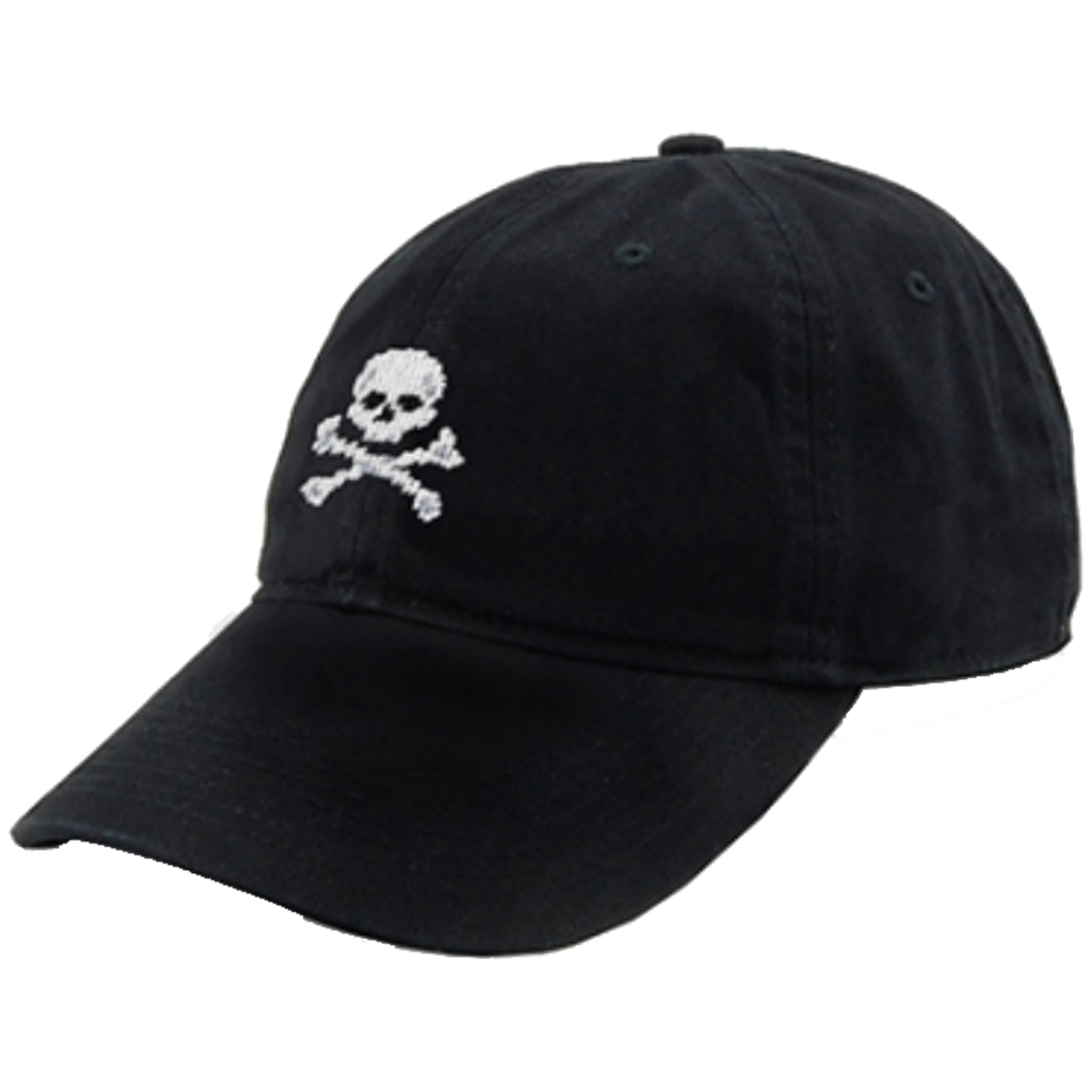 Smathers & Branson Needlepoint Hat - Jolly Roger