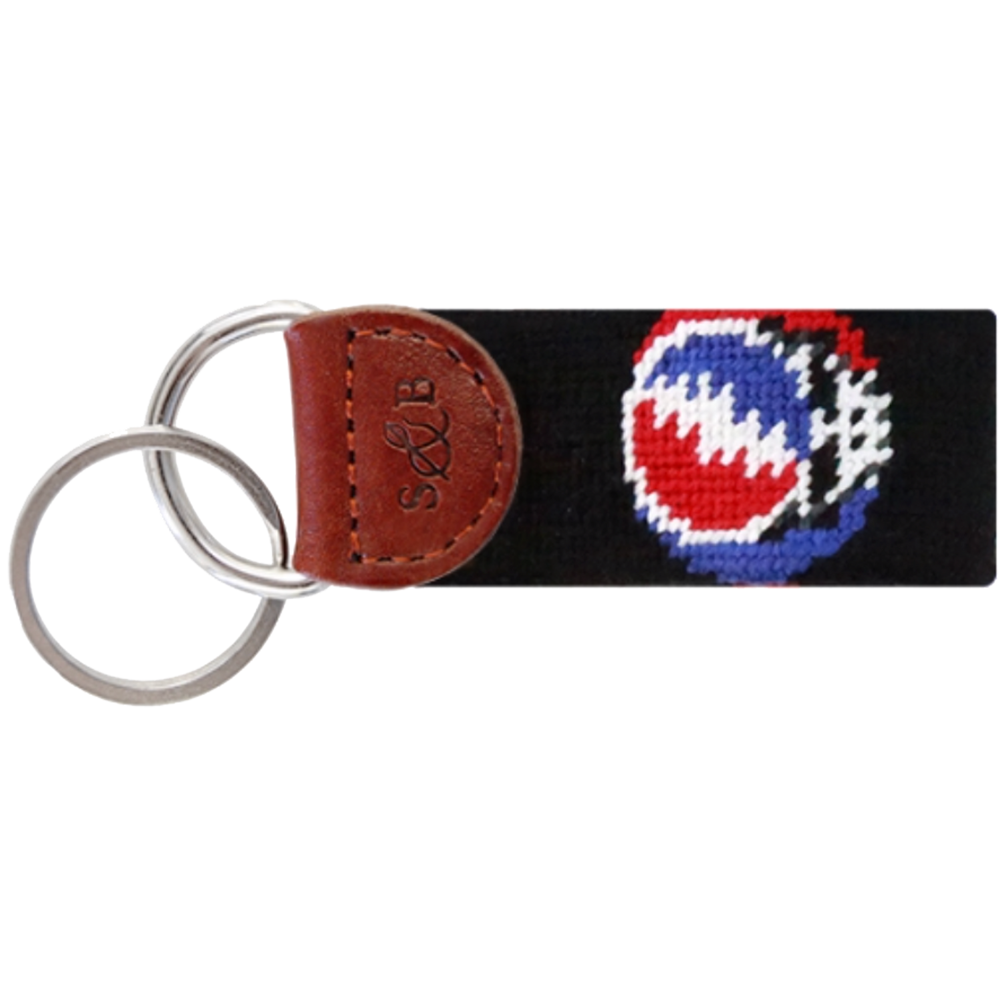 Smathers & Branson Steal Your Face Key Fob - Black