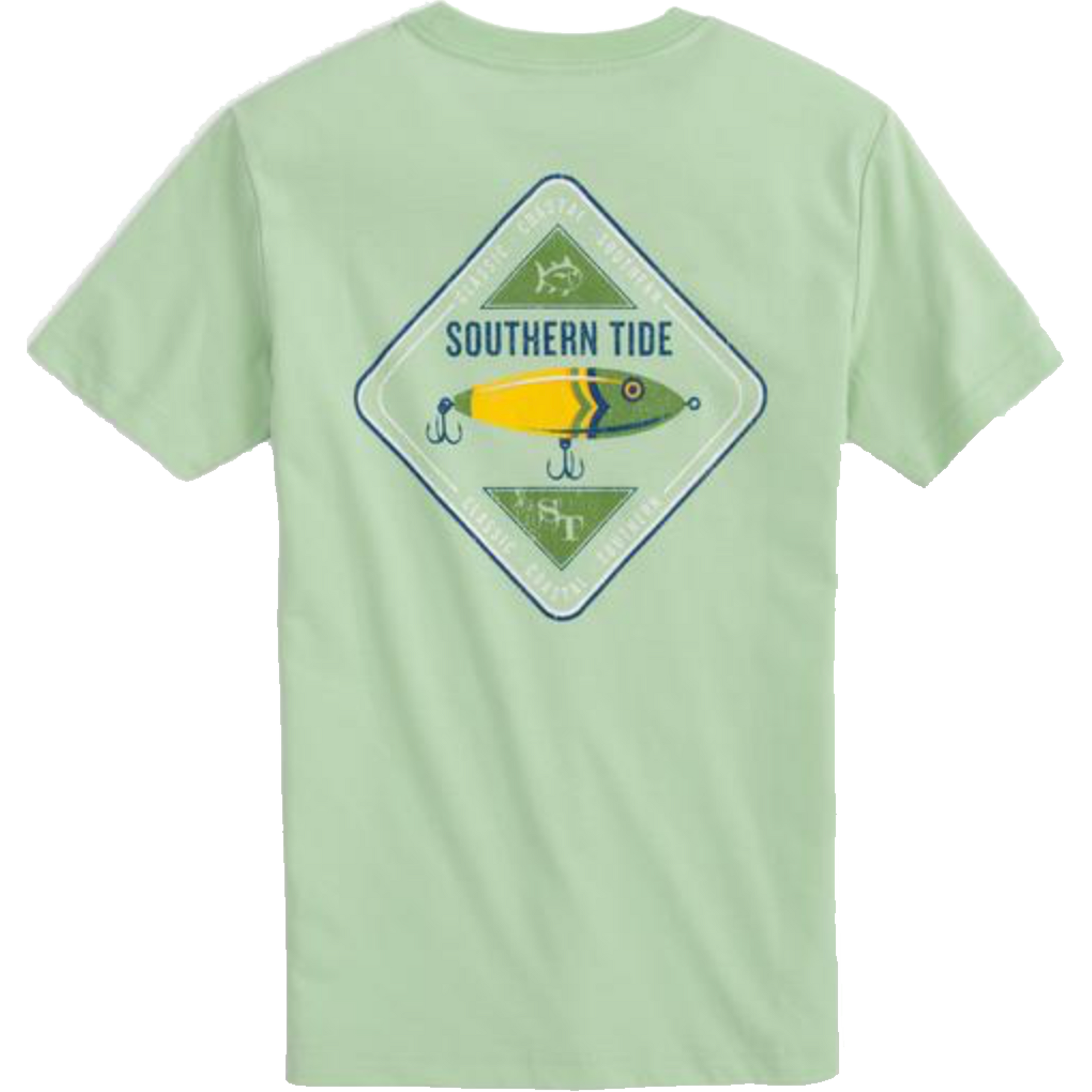 Southern Tide Boys Southern Tide Lure Tee - Garden Grove