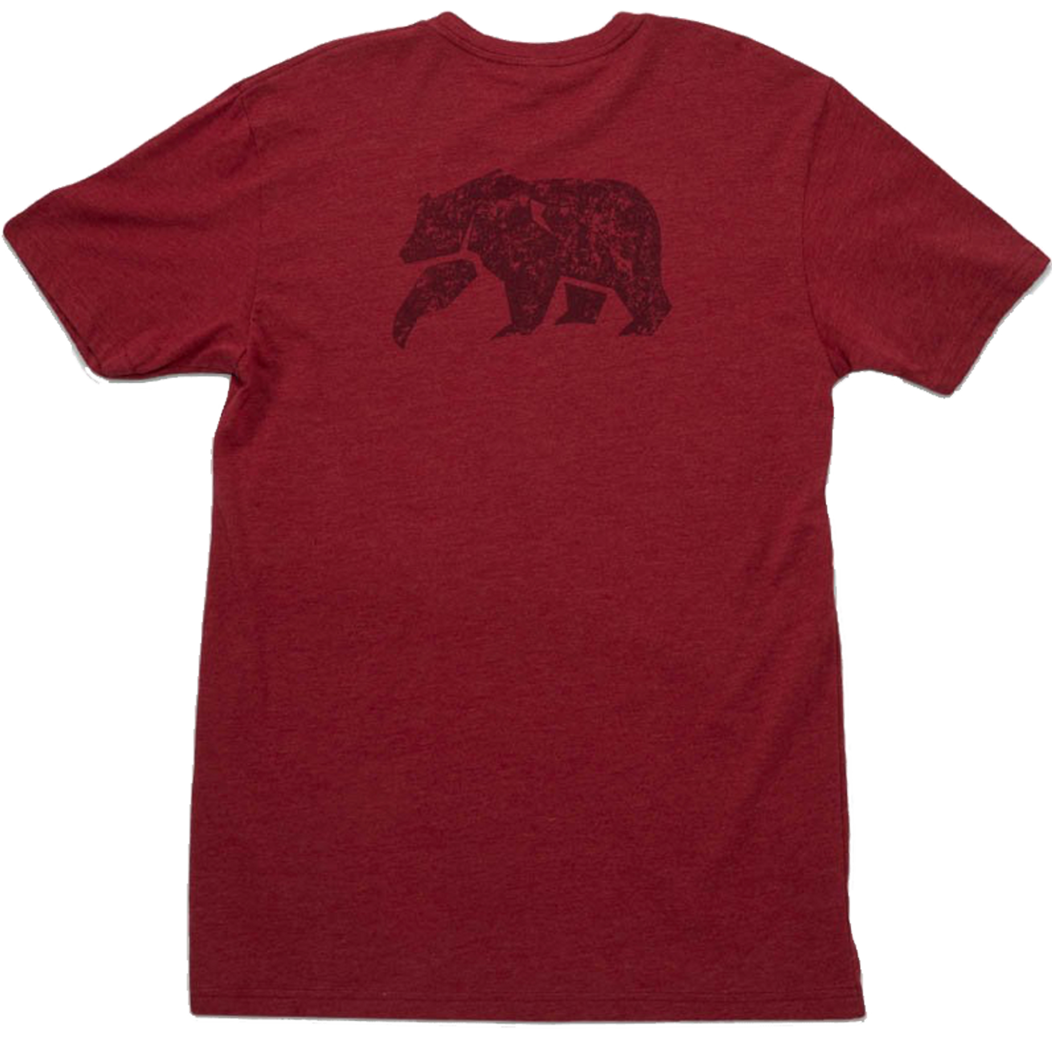 The Normal Brand Worn in Bear Tee - Red