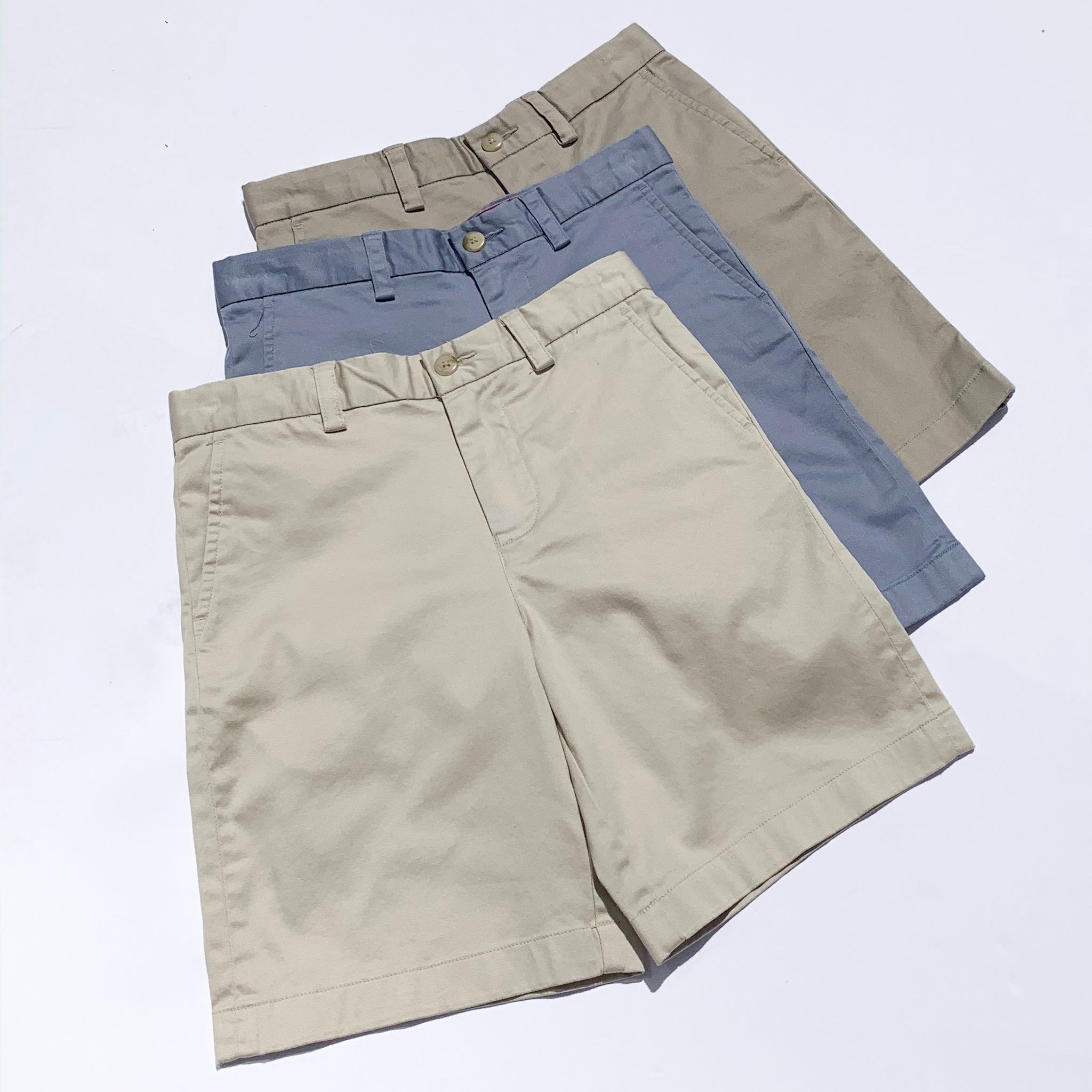 Southern Tide Boys Channel Marker Chino Short - Tsunami Grey