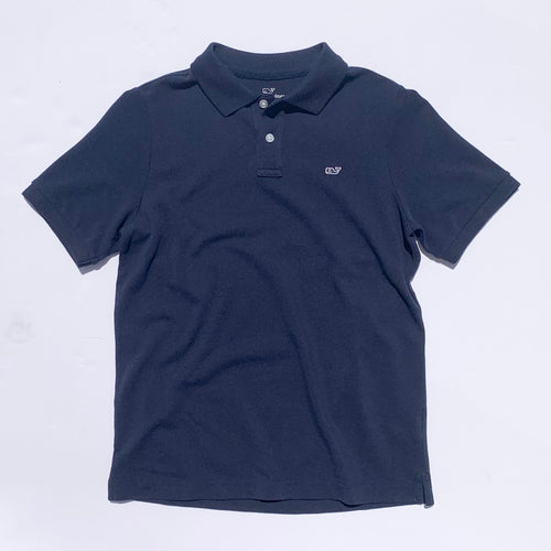 Vineyard Vines Boys Classic Pique Polo - Vineyard Navy