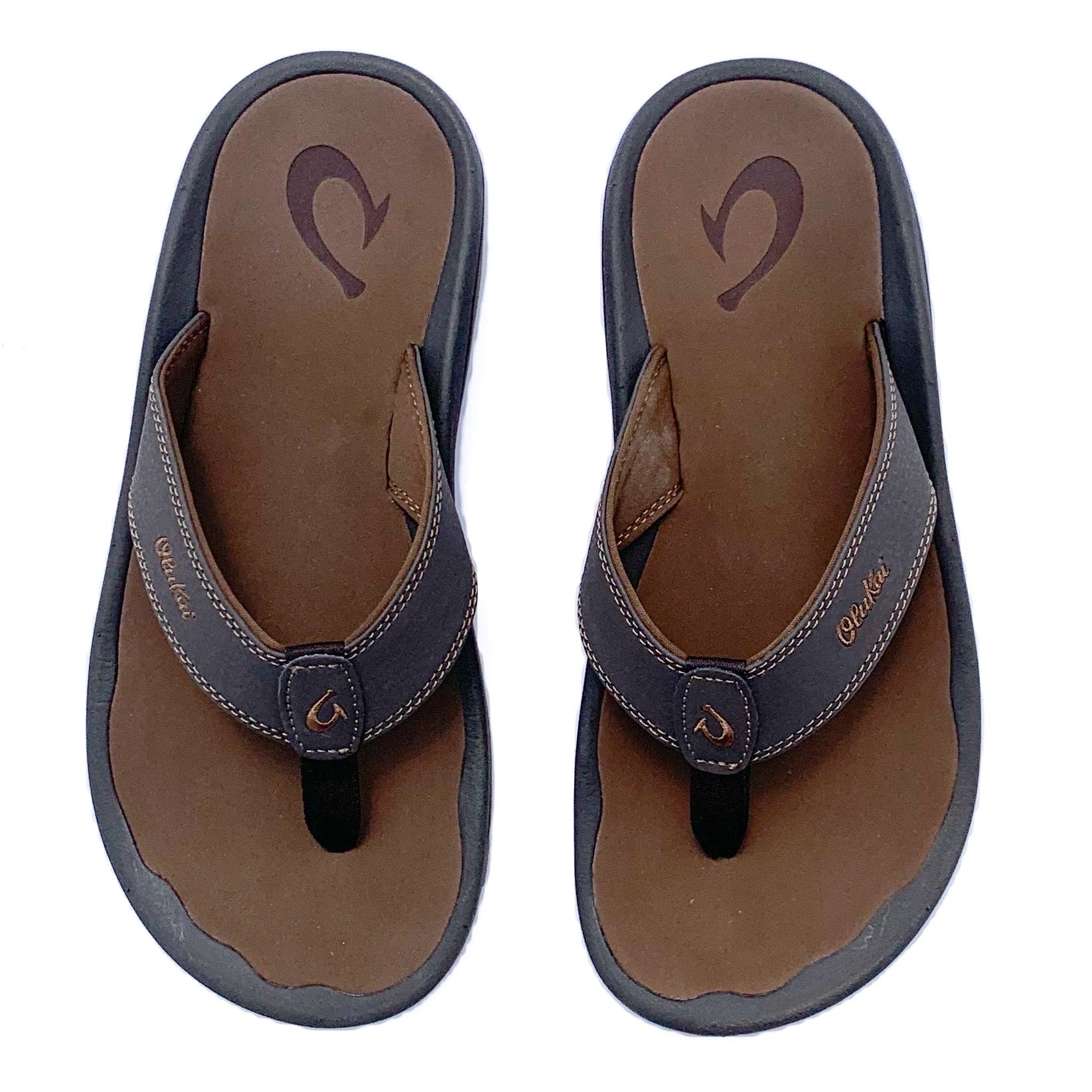 OluKai Ohana Sandals - Dark Java / Ray