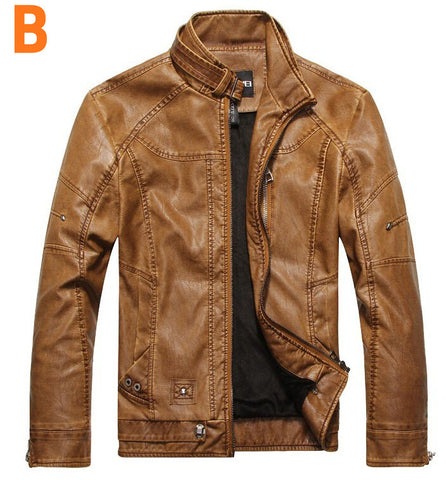 Limited Edition - Collar Leather Jacket