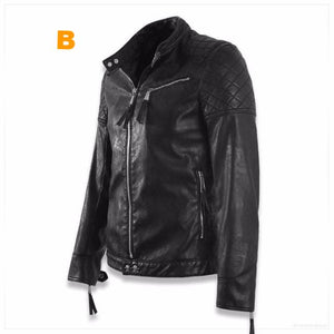 Thin Leather Skull Jacket 7