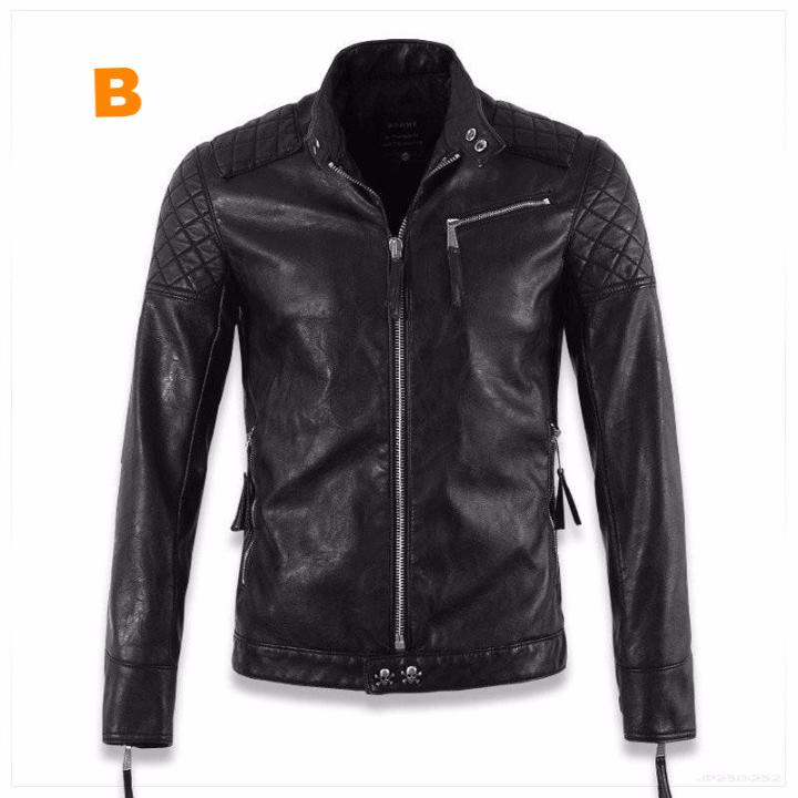 Thin Leather Skull Jacket 5