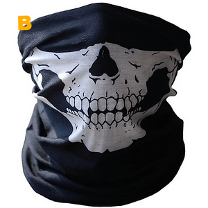 Skull Motorcycle Headwear Face Mask