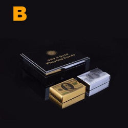 24K Gold & SIlver Cards with Box