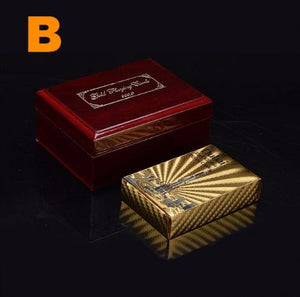 24K Gold Cards with Box