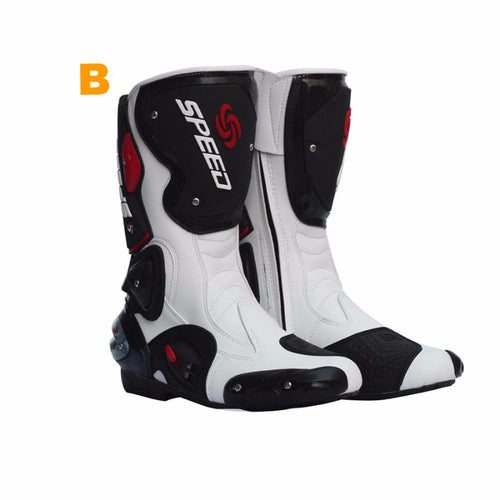 Pro-Biker Speed Motorcycle Sports Boots