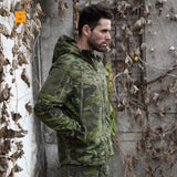 Tropic Camo Hunting Jacket with Hood