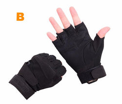 Military Tactical Half Finger Combat Gloves