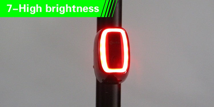 Waterproof LED Bicycle Cycling Night Tail Light with 6 Modes