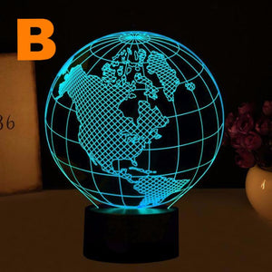 best bunchilla world shaped light 2017