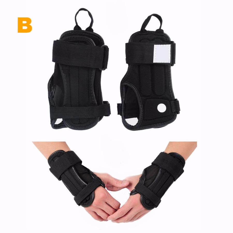 Wrist Guard Protective Gloves