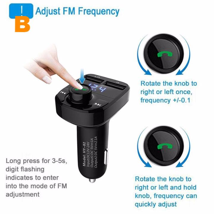 Intelligent Bluetooth Car Charger