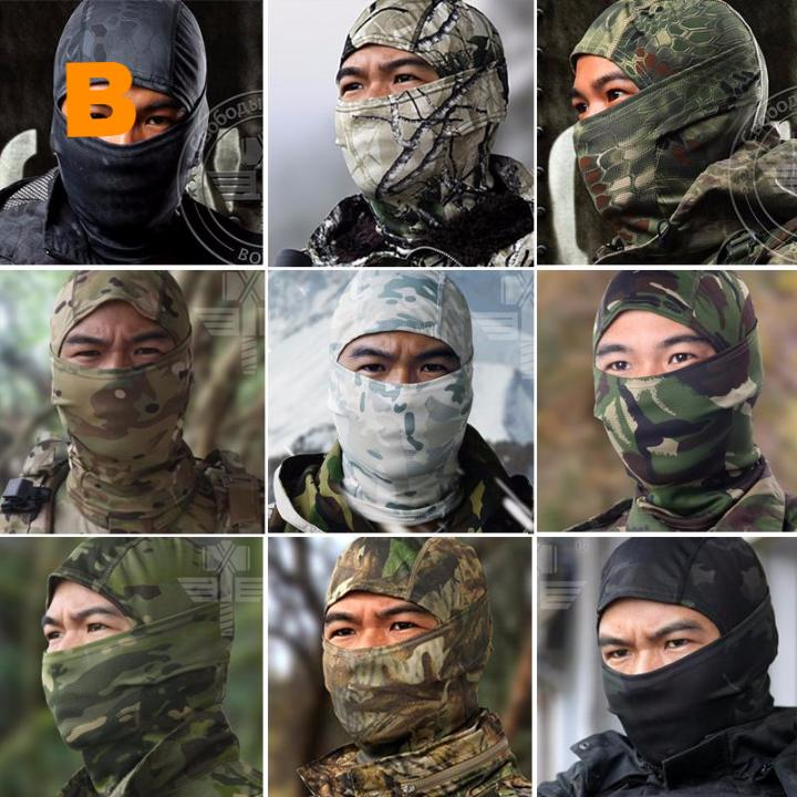 Camouflage Balaclava Full Face Mask